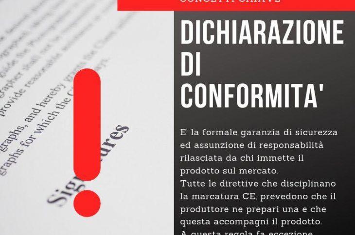 Dichiarazione di conformità