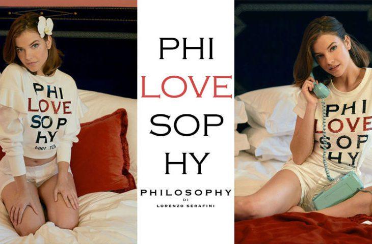 """phiLOVEsophy"""" l'ultima iconica creazione a cura di Philosophy di Lorenzo Searafini."""