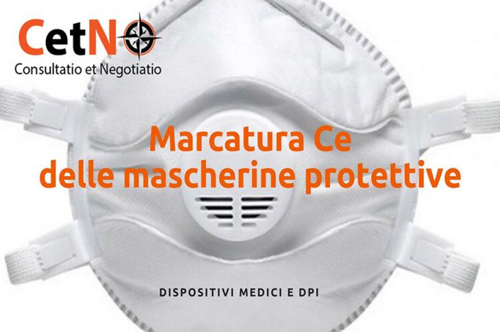 marcatura ce delle mascherine protettive