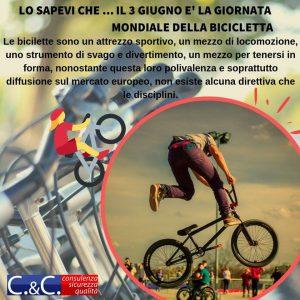 3 giugno, Giornata Mondiale della Bicicletta